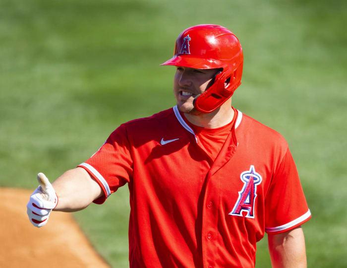Los Angeles Angels: Mike Trout, AL MVP