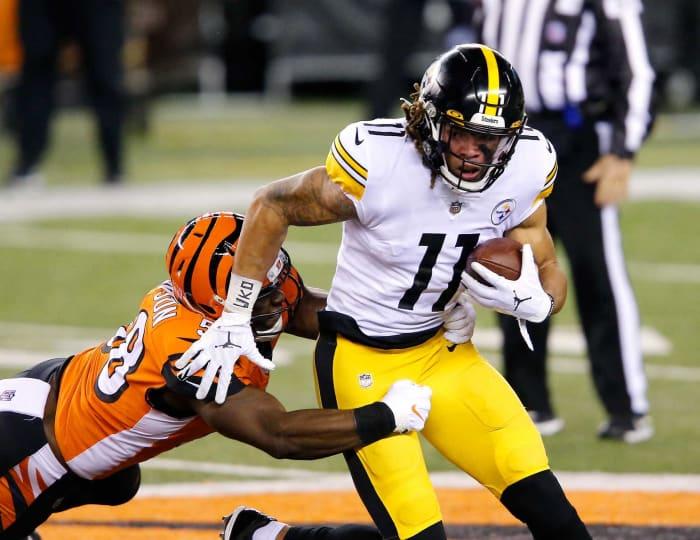 Chase Claypool, WR, Steelers