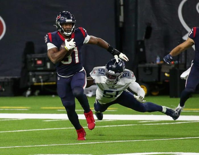 Houston Texans Strength: Running Back