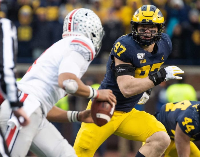 Los Angeles Chargers: Aidan Hutchinson, DL, Michigan