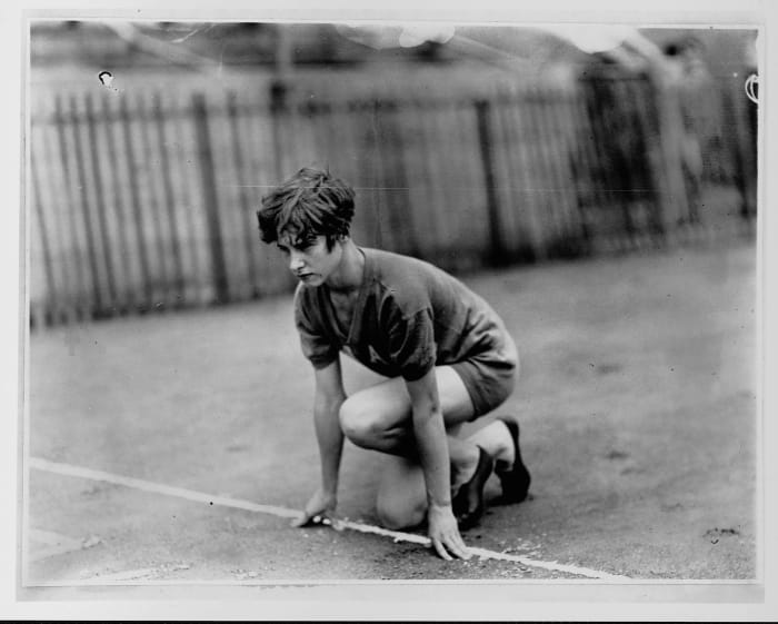 High schooler Robinson faster than the rest (1928)