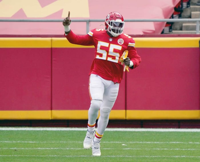 Defensive end paid too much: Frank Clark, Chiefs
