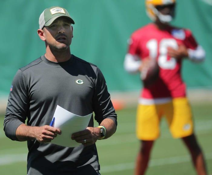 Matt LaFleur, Packers