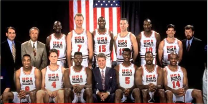 """""""The Dream Team"""" dominates (1992)"""
