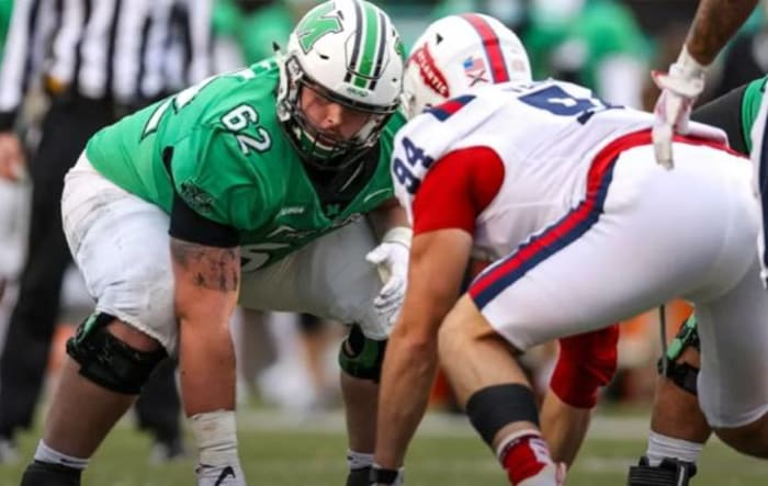 Cain Madden, Offensive Guard, Notre Dame