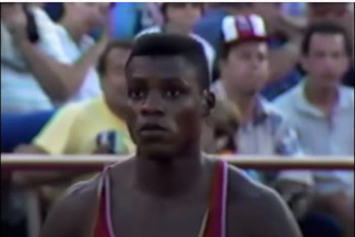Quite the debut for Lewis (1984)