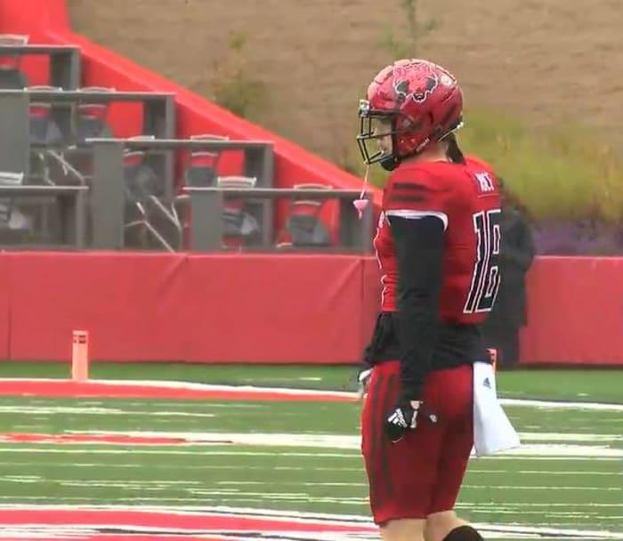 Justin Rice, Linebacker, Utah State