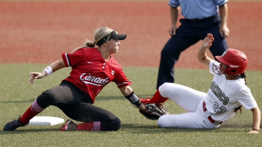 Olympic softball games forced to be played on baseball ...