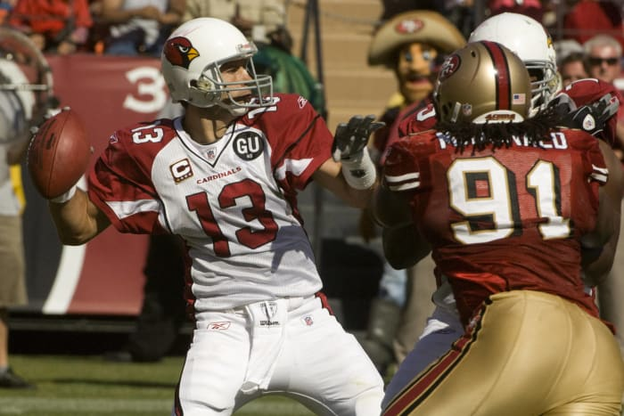 2005: Kurt Warner, Arizona Cardinals