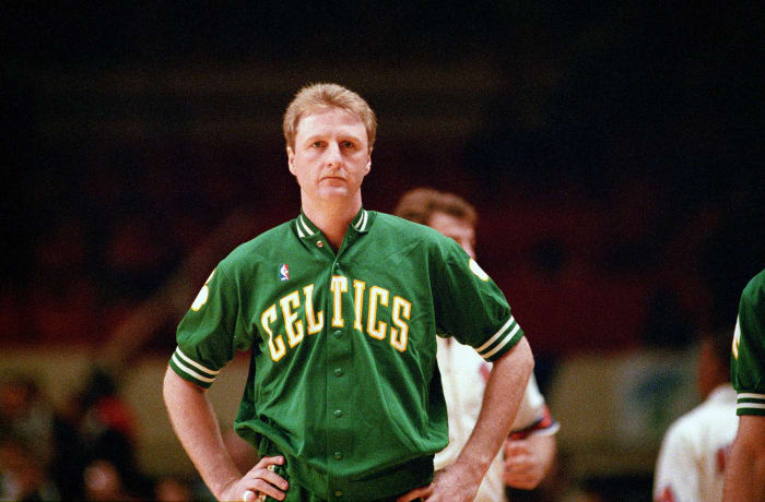 1988: Larry Bird asks who's coming in second