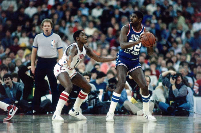 1984: Isiah and Magic's assist showdown