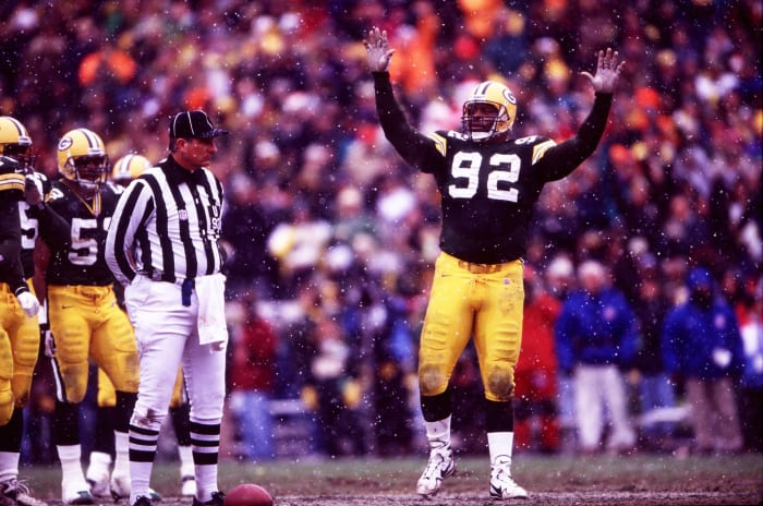 1993: Reggie White, Green Bay Packers