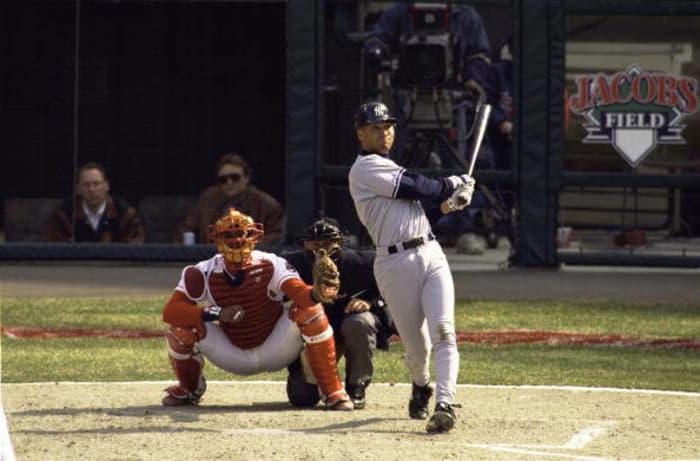 1996: Jeter's first home run