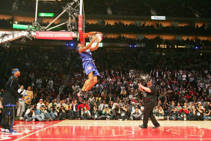 2006: The first dunk-off