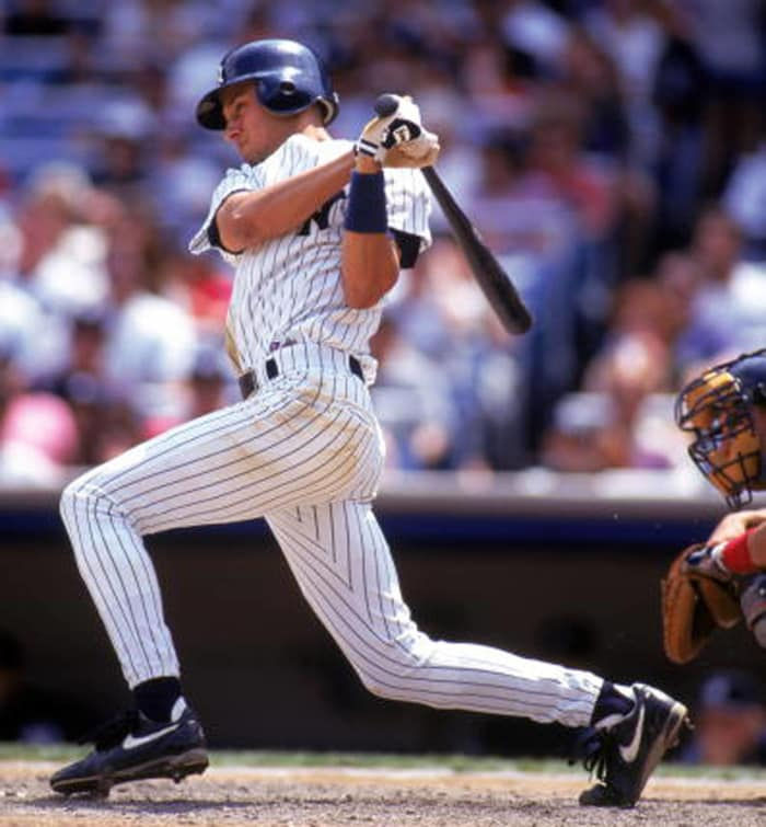 1995: Jeter's first hit