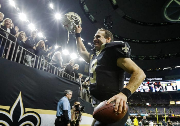 2006: Drew Brees, New Orleans Saints