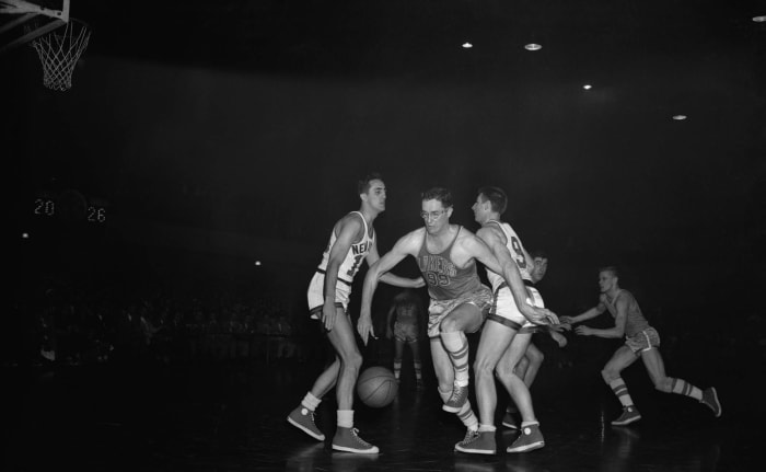 1953: They actually play defense, and it's terrible