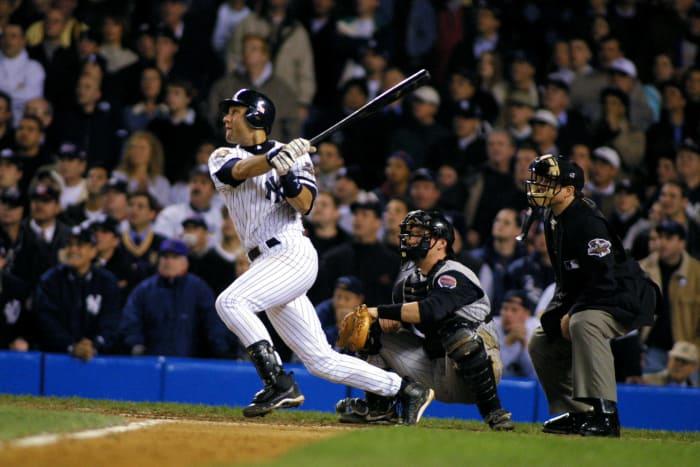 2001: Jeter's walk-off homer in November