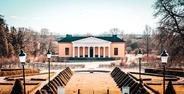 I Uppsala finns en supervacker amfiteater som en barnvakt kan gå till