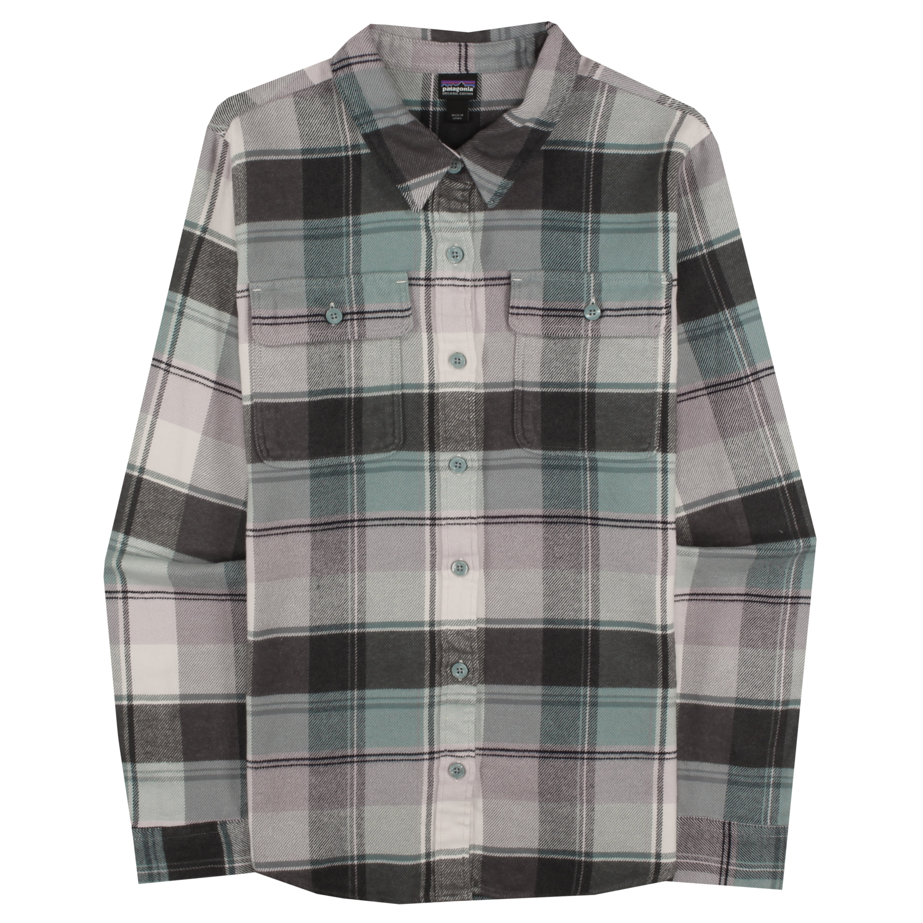 1914c2f8 Patagonia Worn Wear Women's Long-Sleeved Fjord Flannel Shirt Activist Big: Nomad  Green - Used