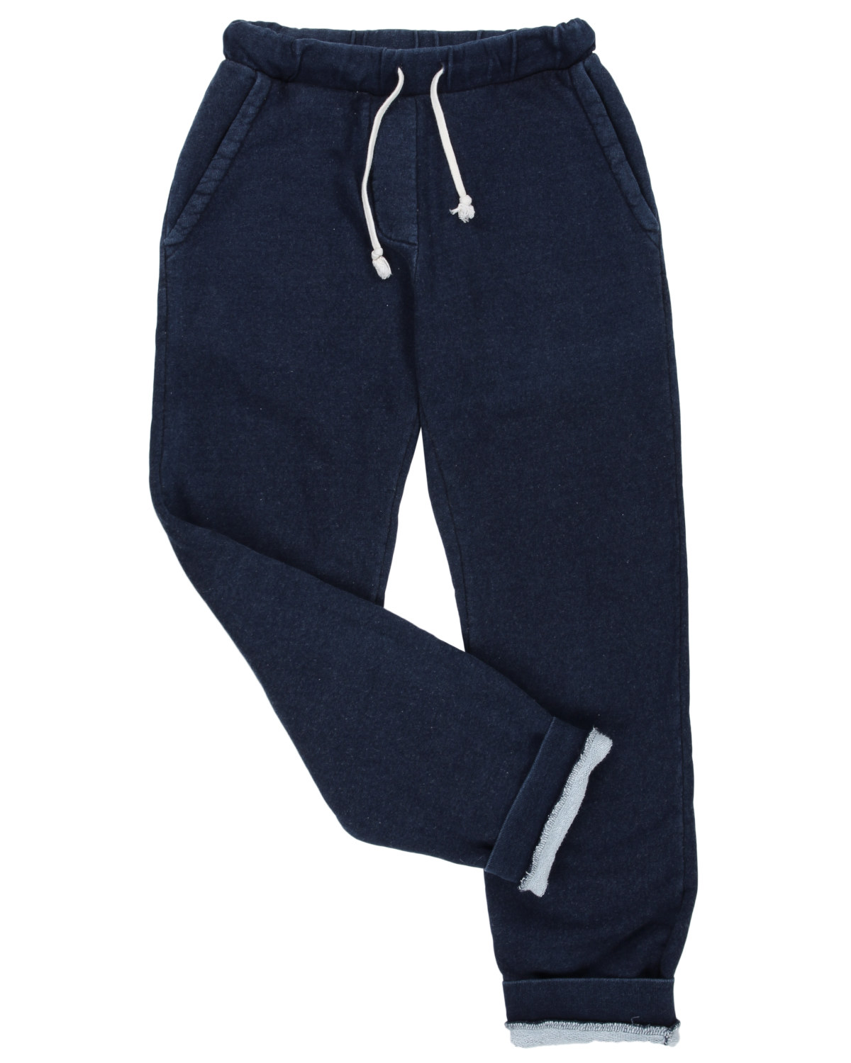 Sea Washed Indigo Fleece Sweatpants