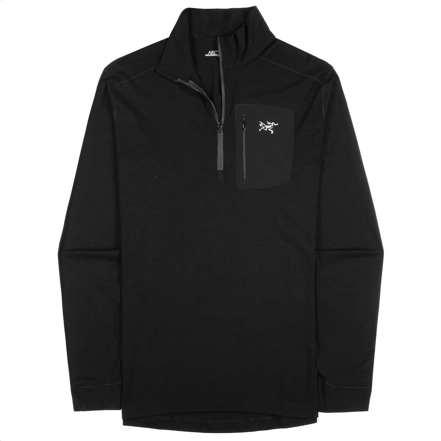 Main product image: Satoro AR Zip Neck LS Men's