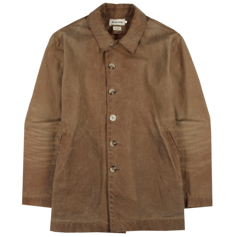 Vintage - Brush Brown Waxed Wayfaring Jacket