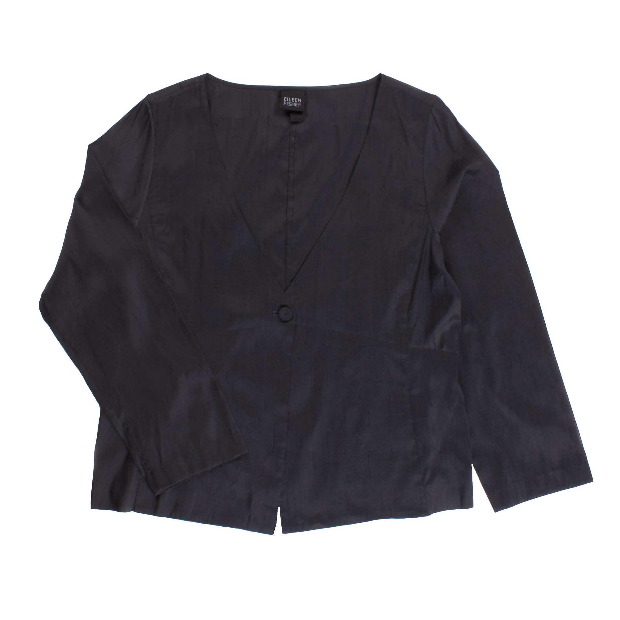 Yarn-dyed Silk Dupioni Jacket