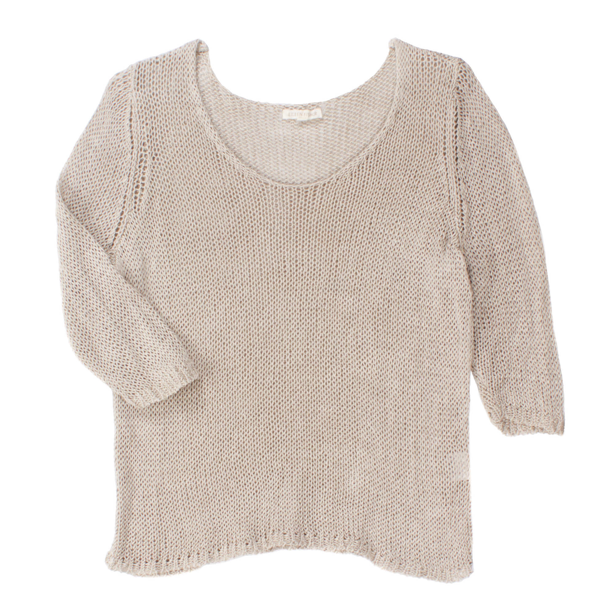 Linen Cord Pullover