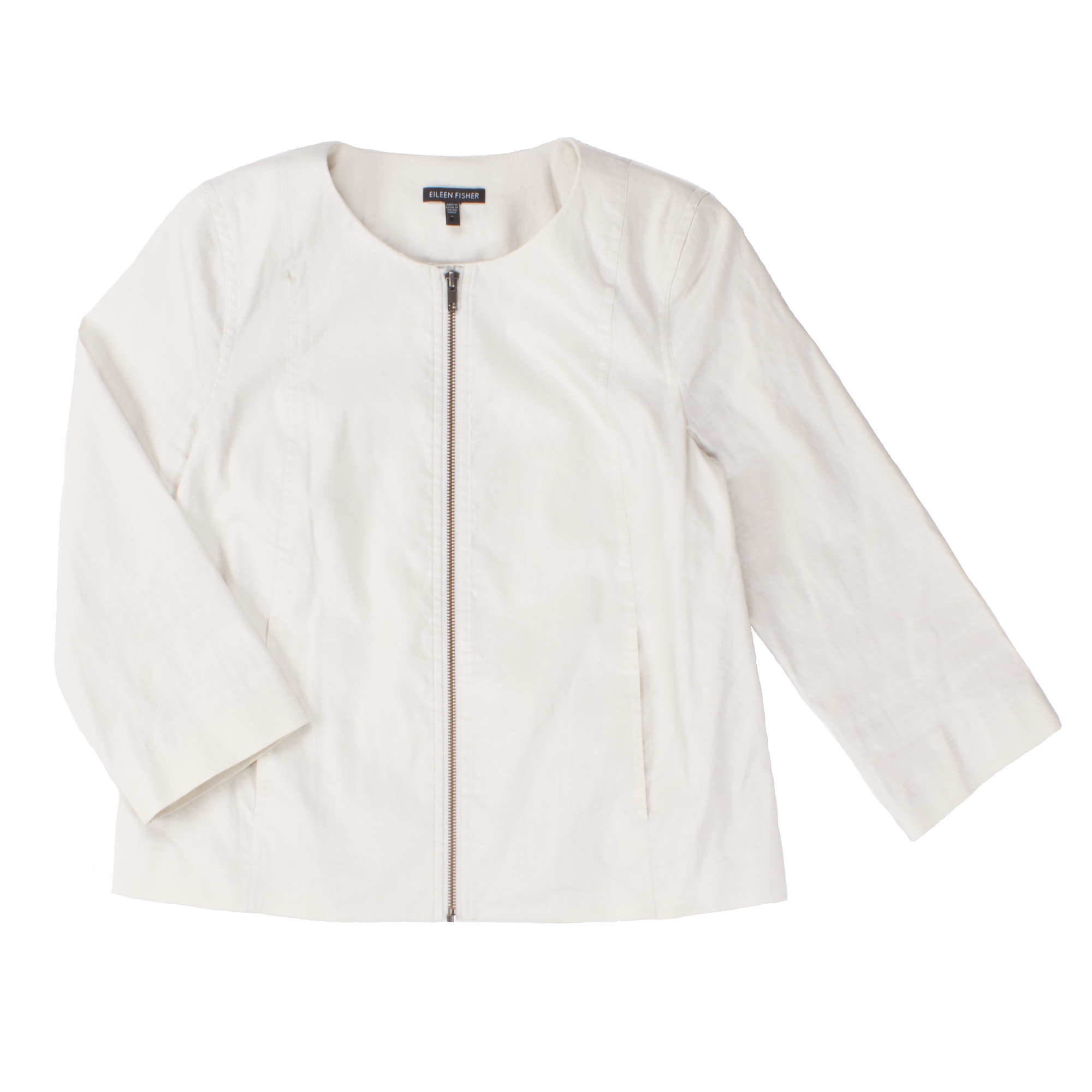 Polished Ramie Stretch Jacket