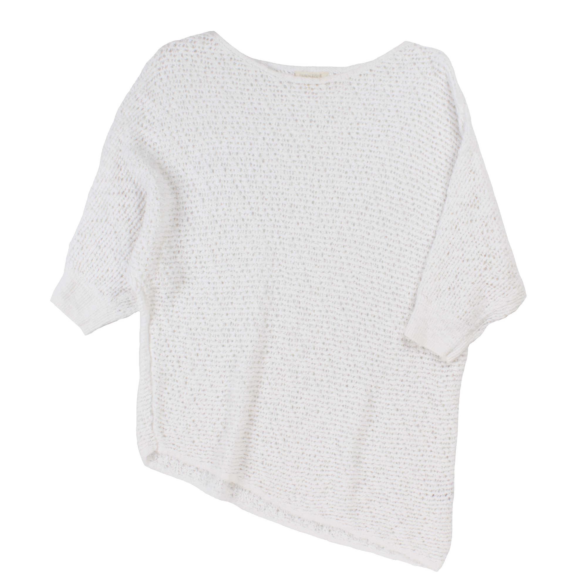 Organic Cotton Nubble Mesh Pullover
