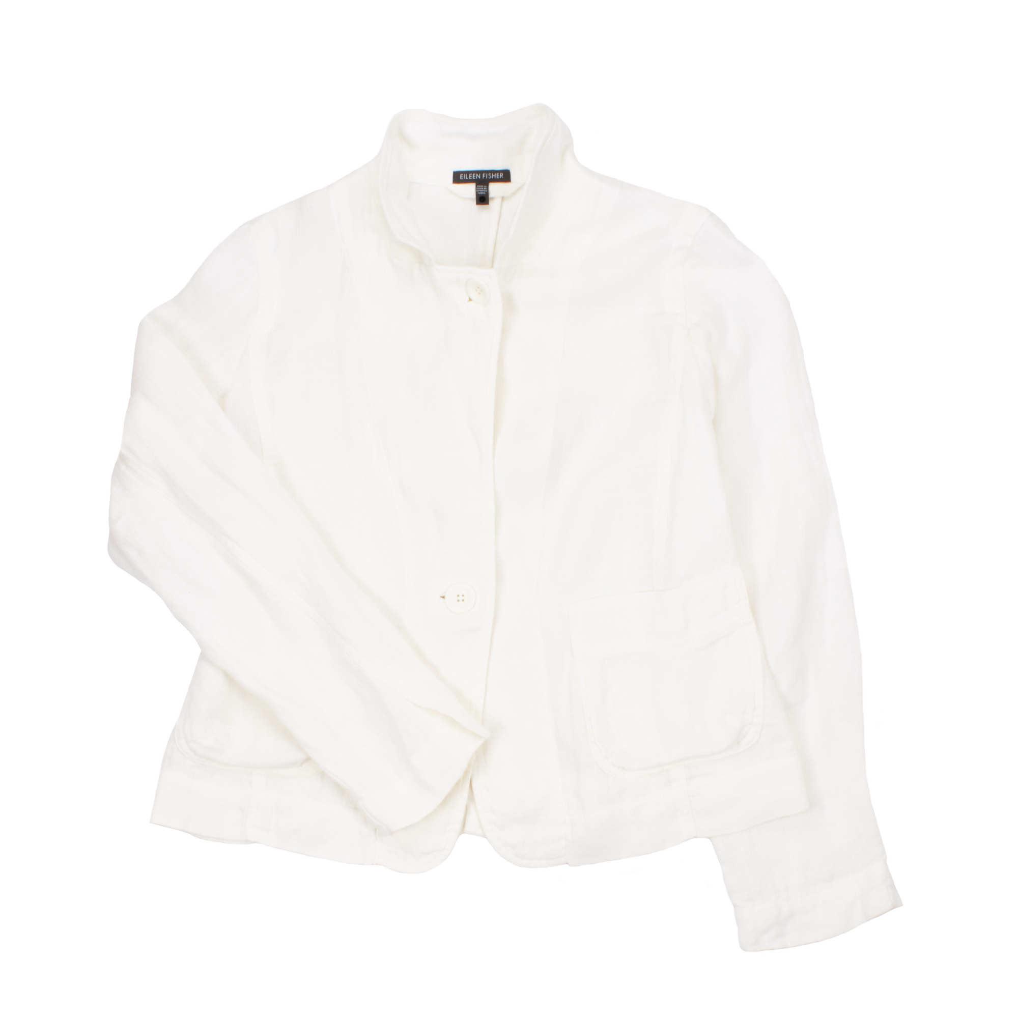 Doubleweave Linen Jacket