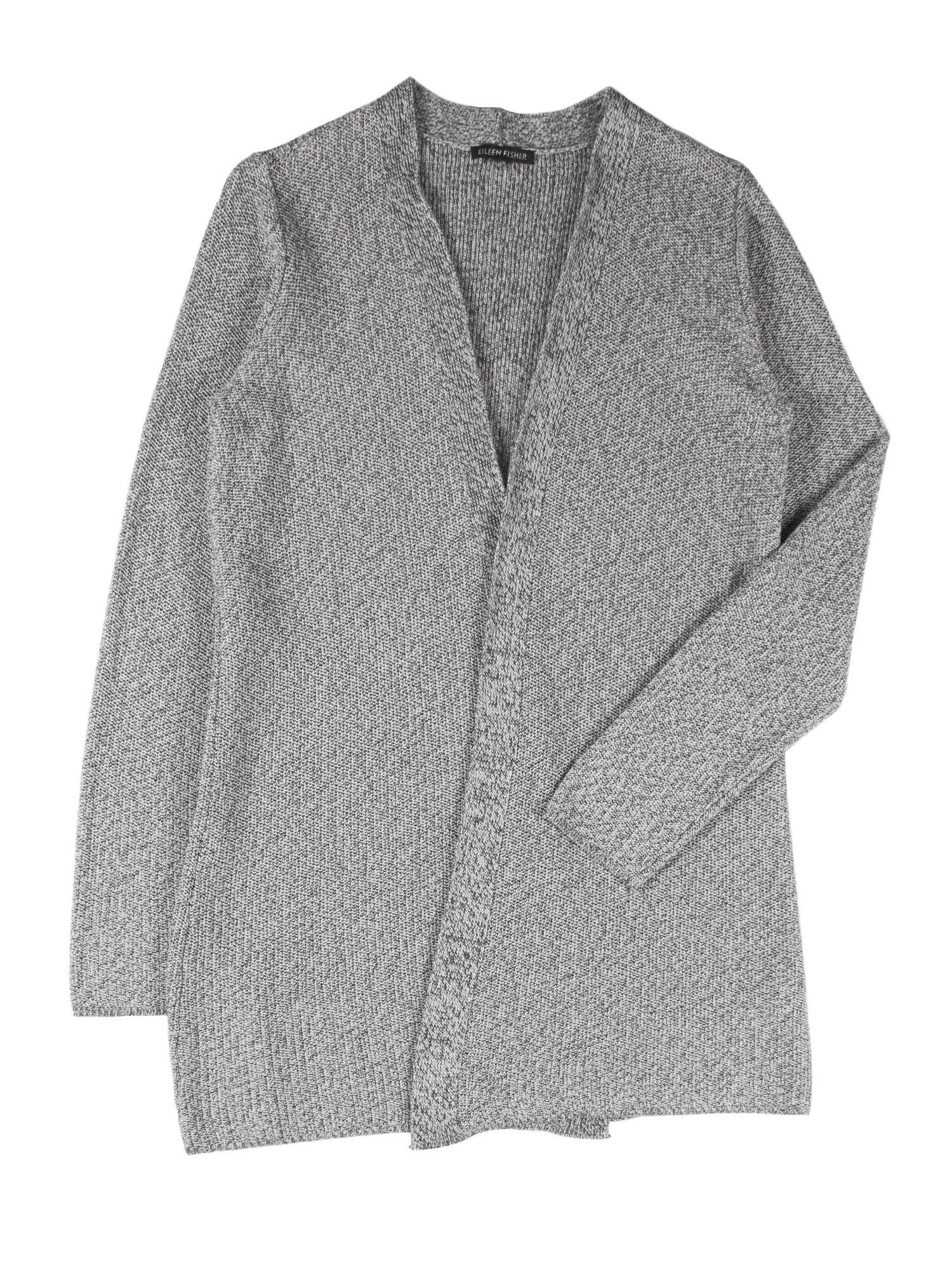 Sleek Tencel Twist Cardigan