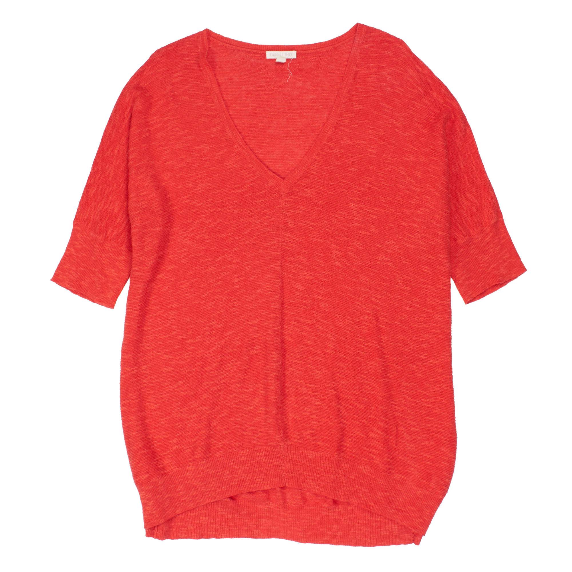 Organic Linen Cotton Slub Links Pullover