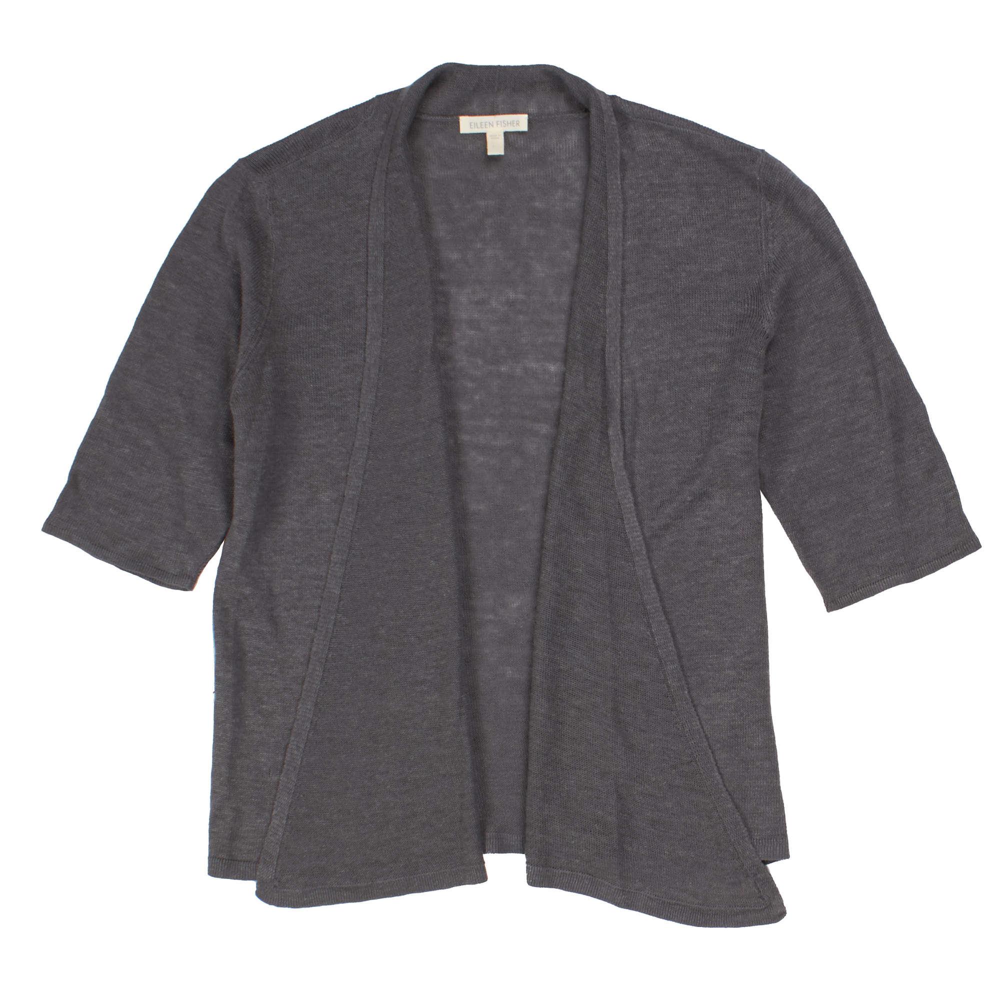 Lightweight Fine Gauge Linen Cardigan