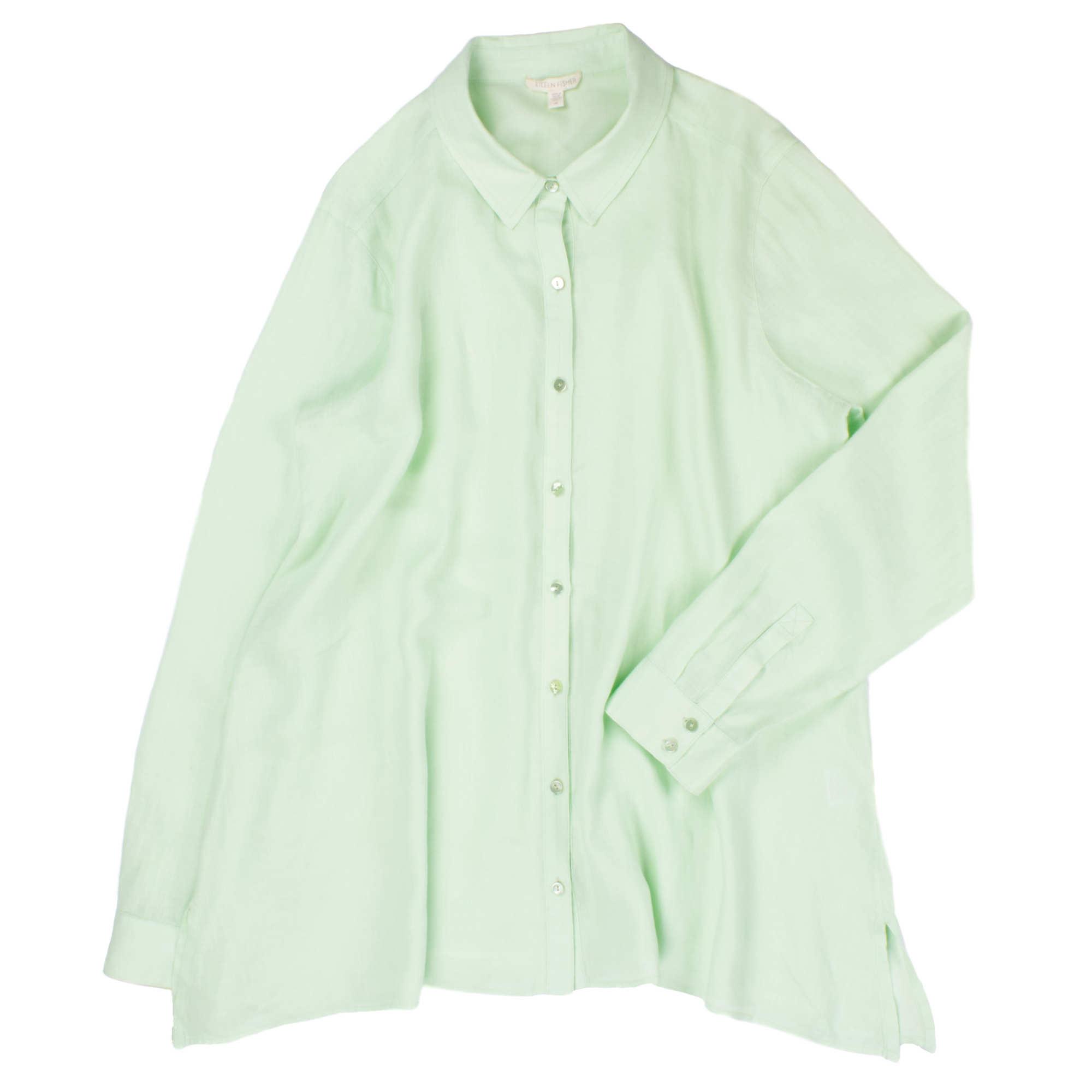 Organic Handkerchief Linen Blouse