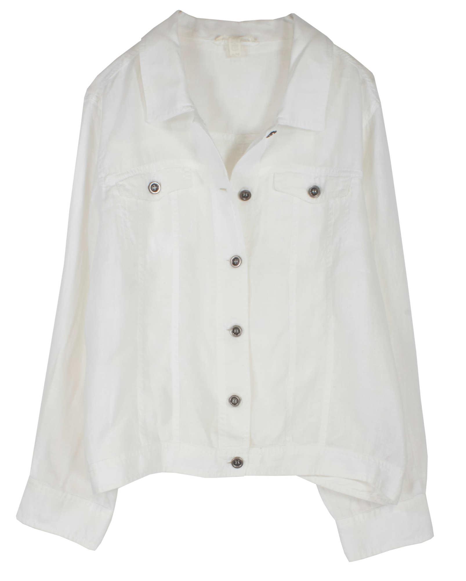 Organic Handkerchief Linen Jacket