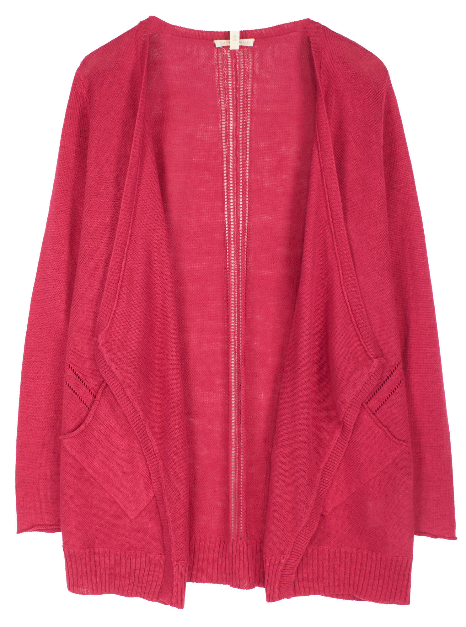 Organic Linen Knit Cardigan