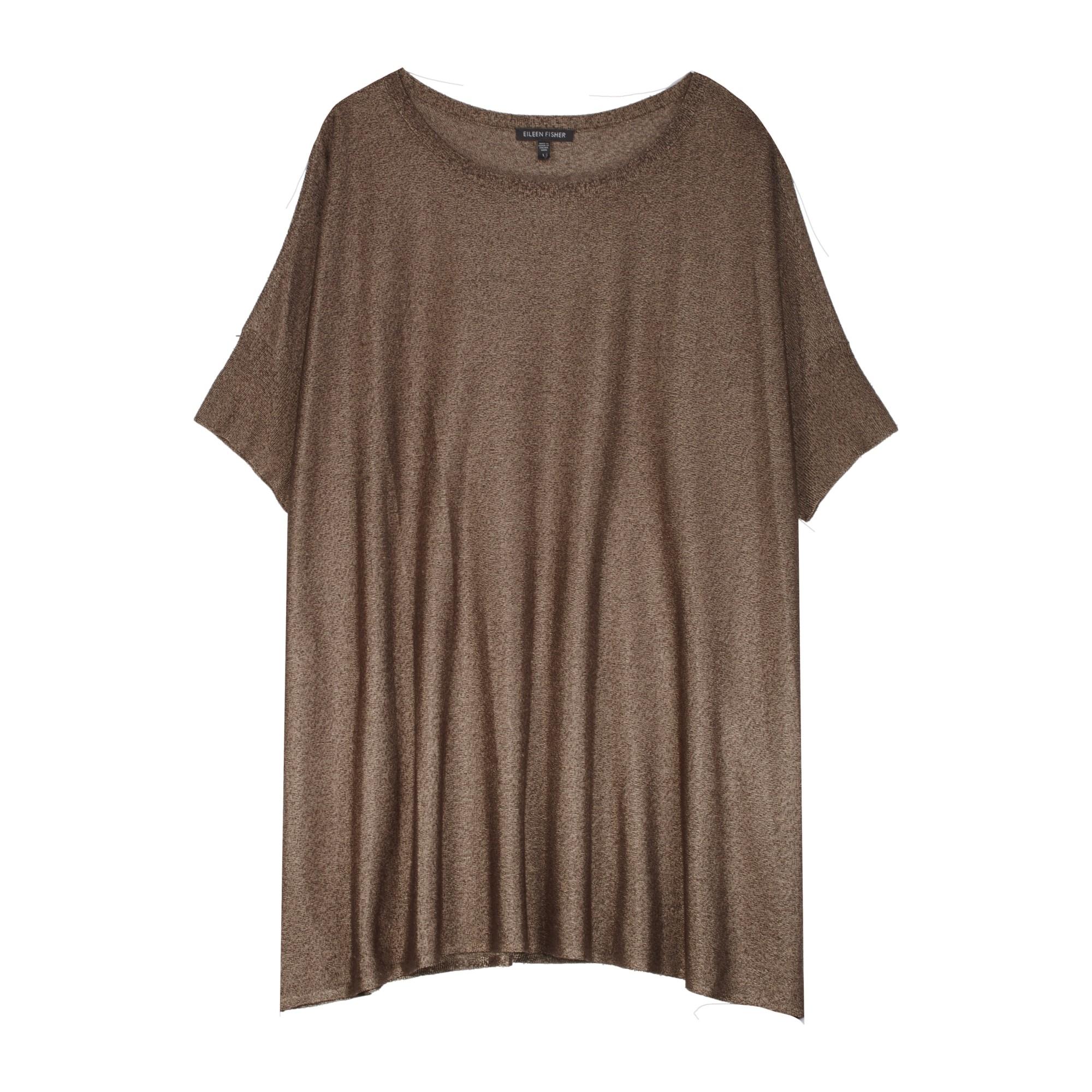 Viscose Polyester Shine Pullover