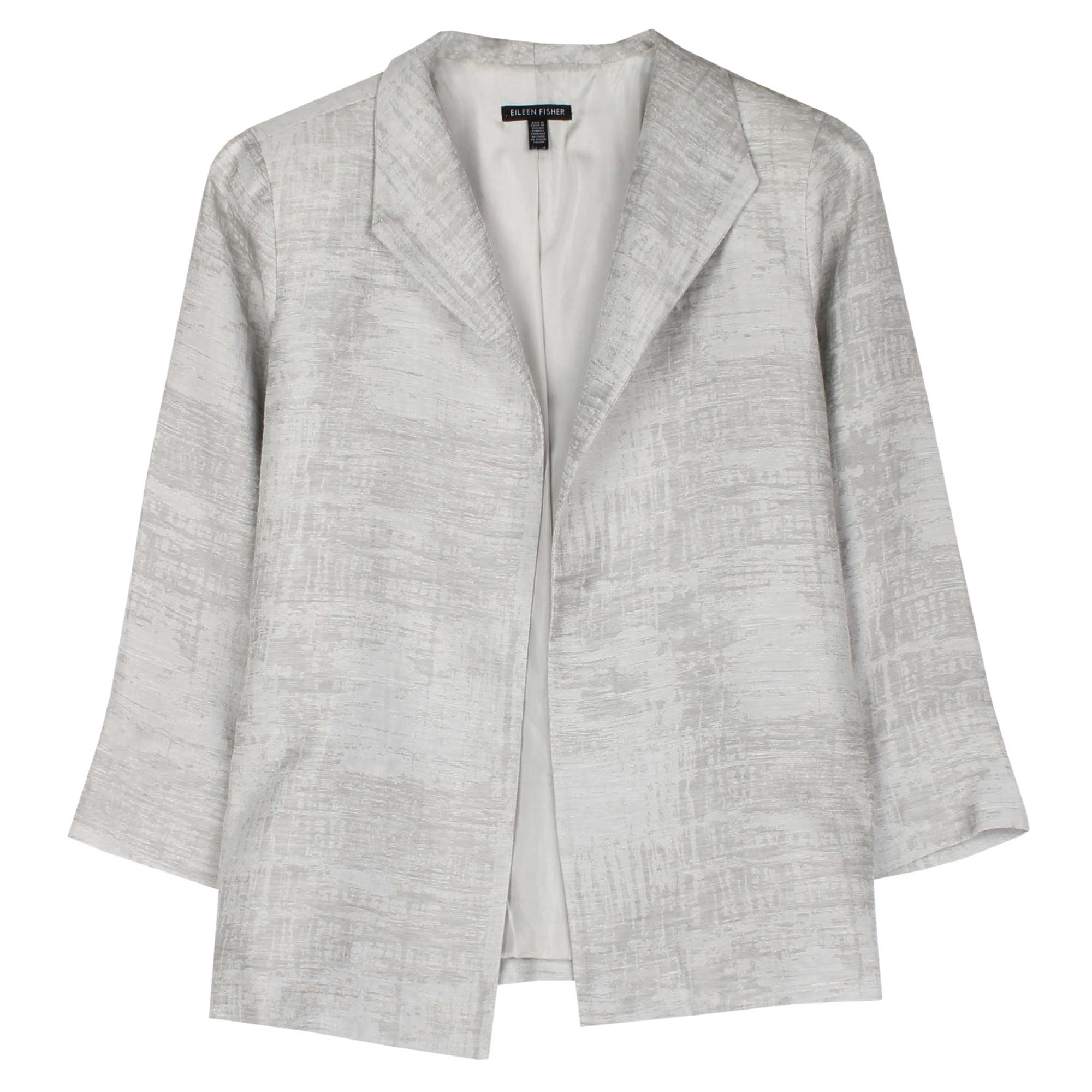 Guilded Linen Jacquard Jacket