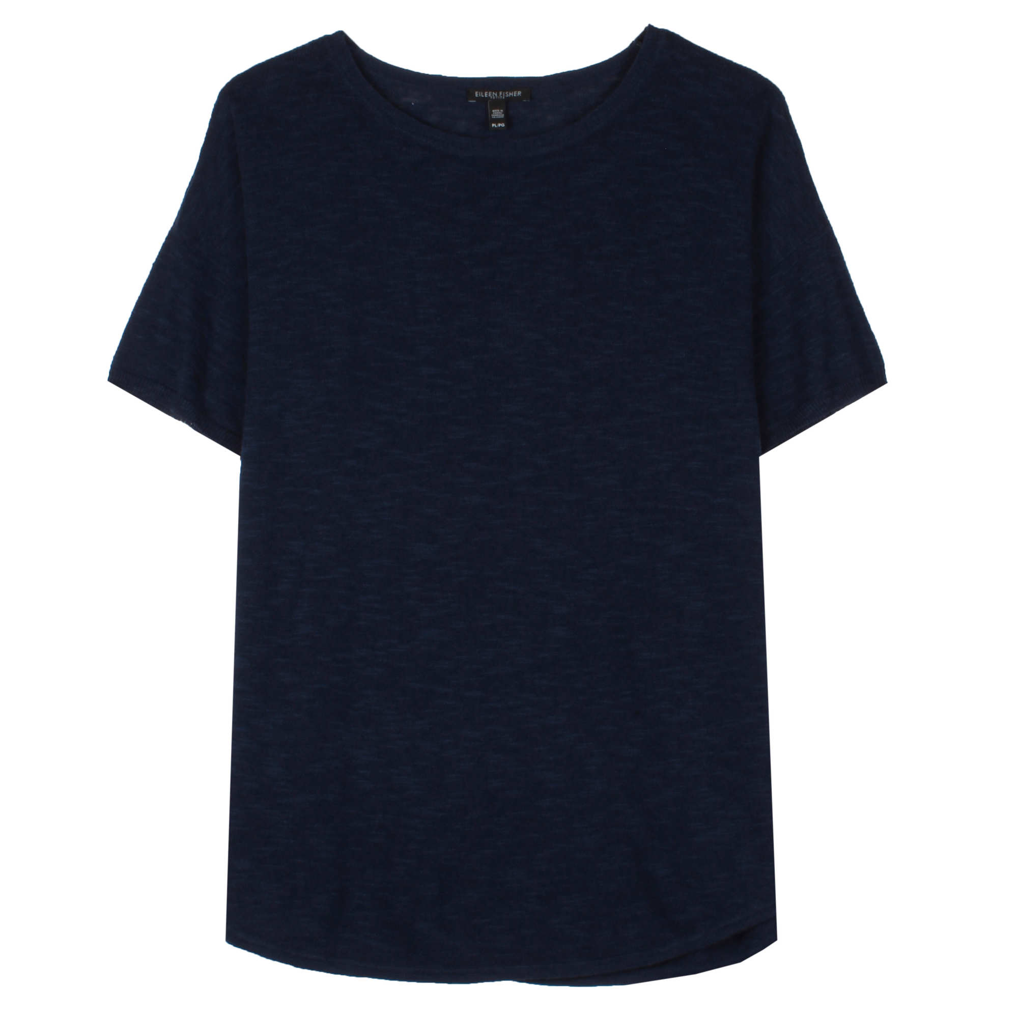 Organic Linen Cotton Slub Pullover