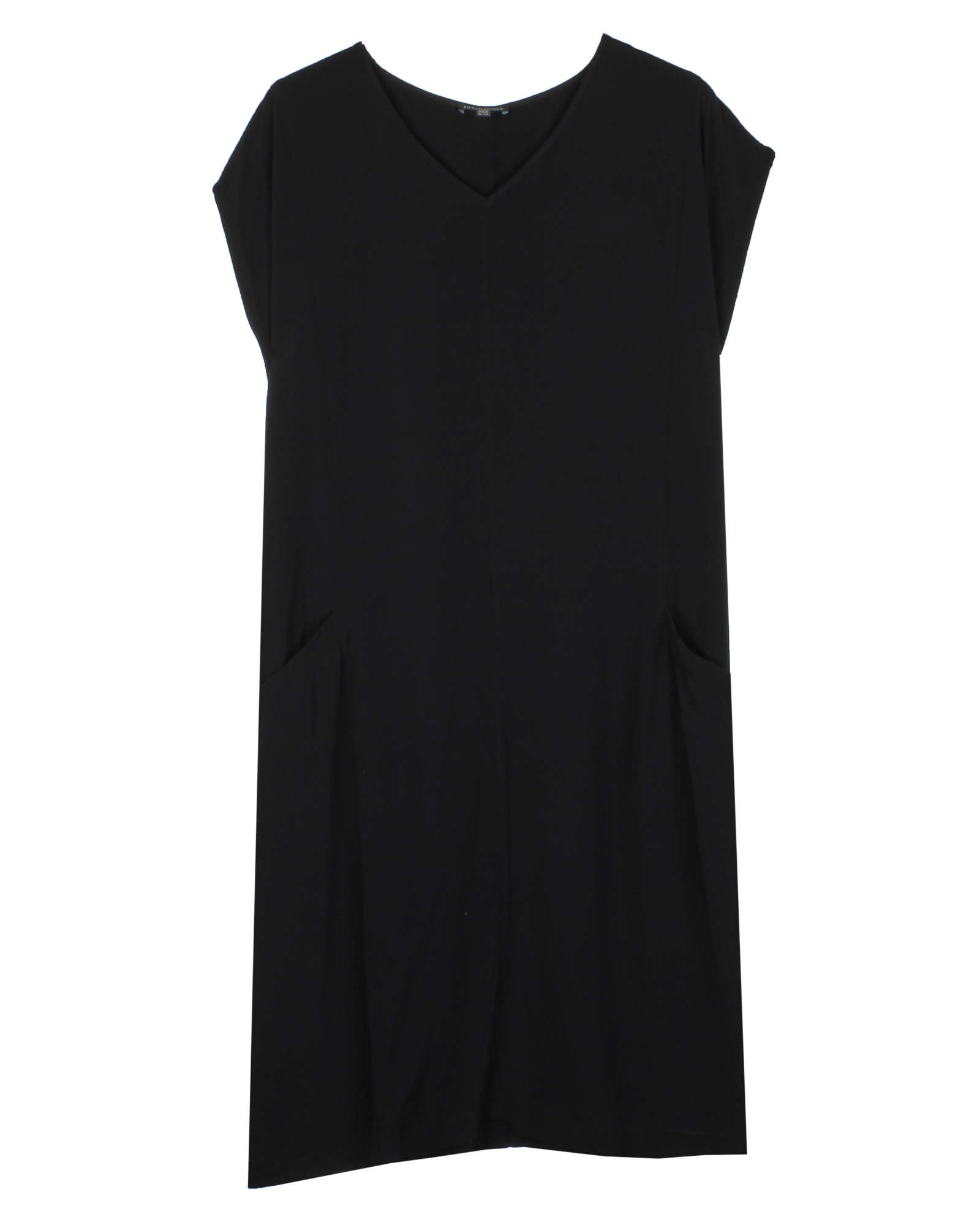 Tencel Viscose Crinkle Crepe Dress