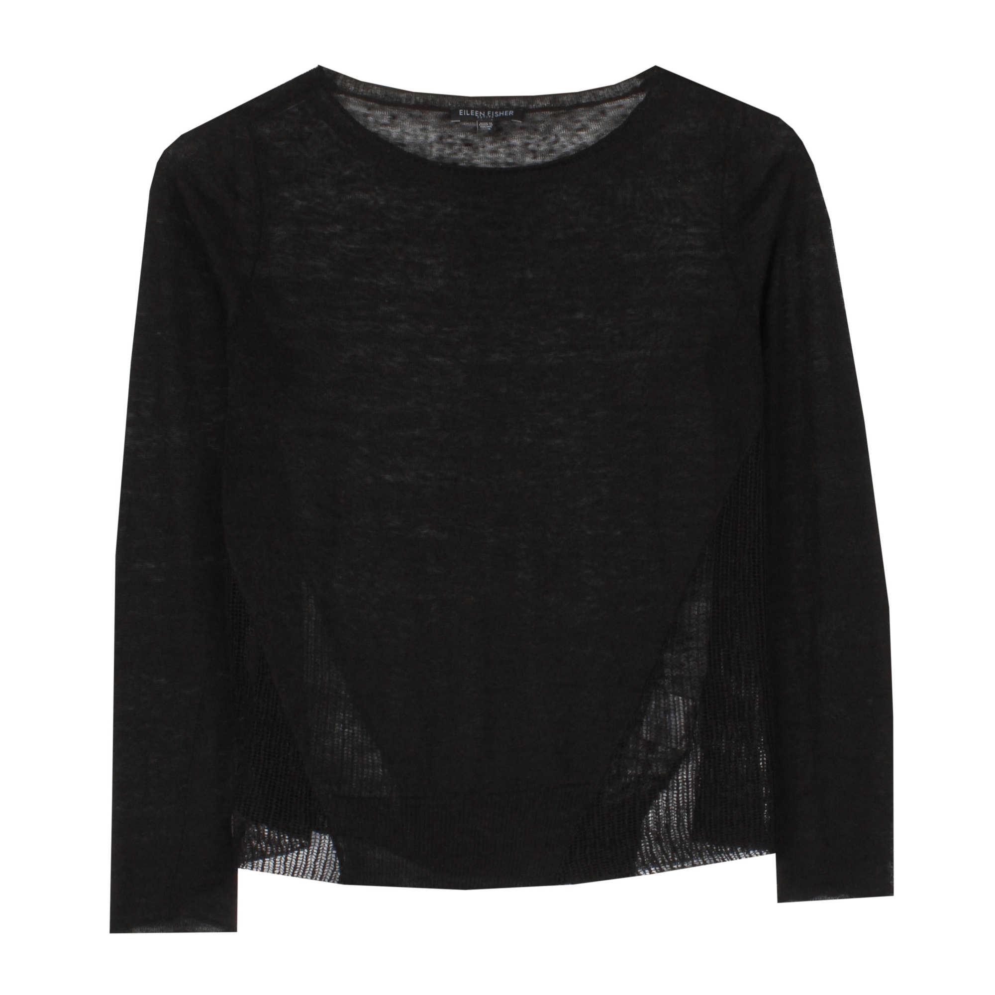 Sheer Hemp Knit Pullover