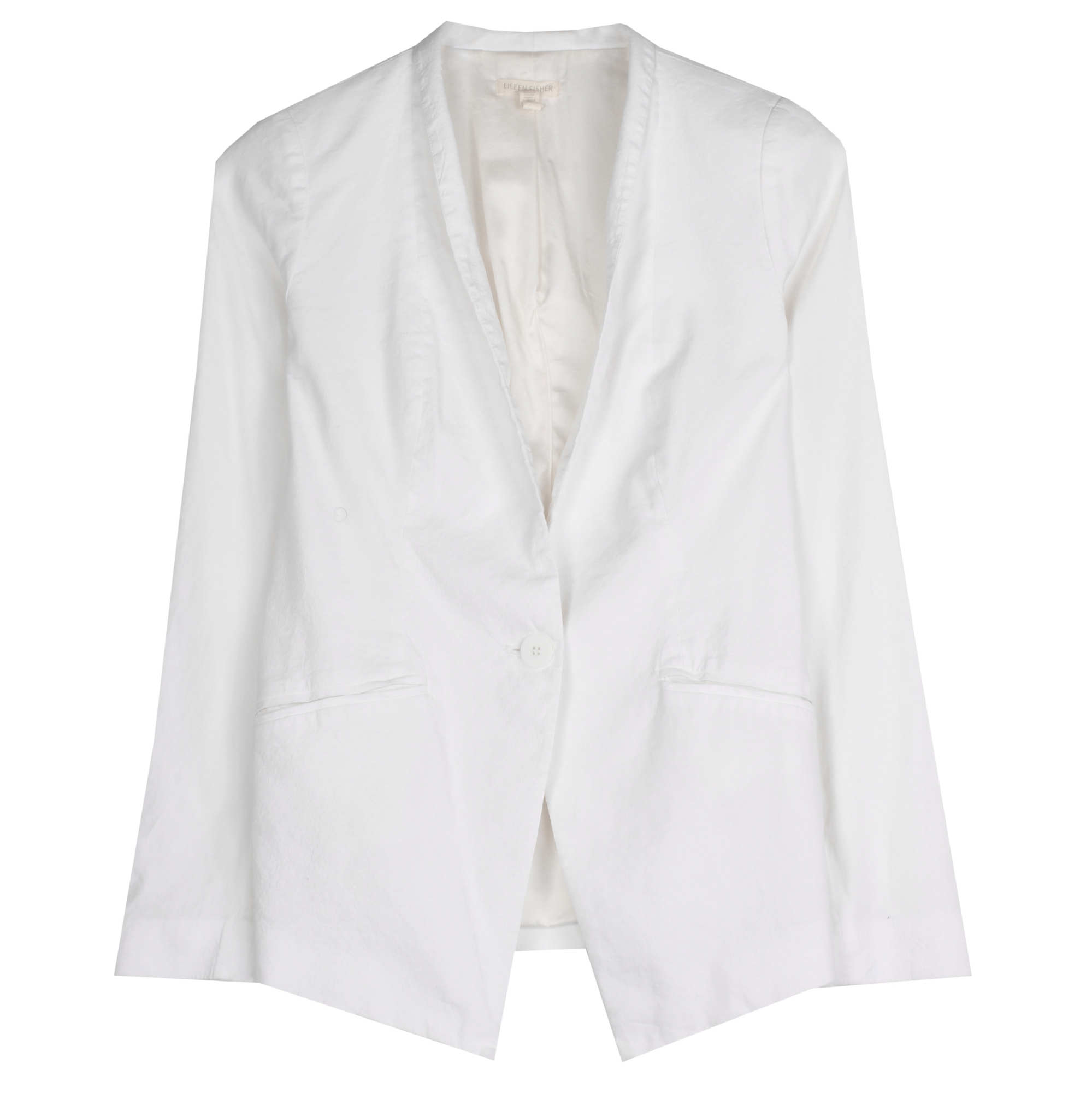 Organic Linen Viscose Stretch Jacket
