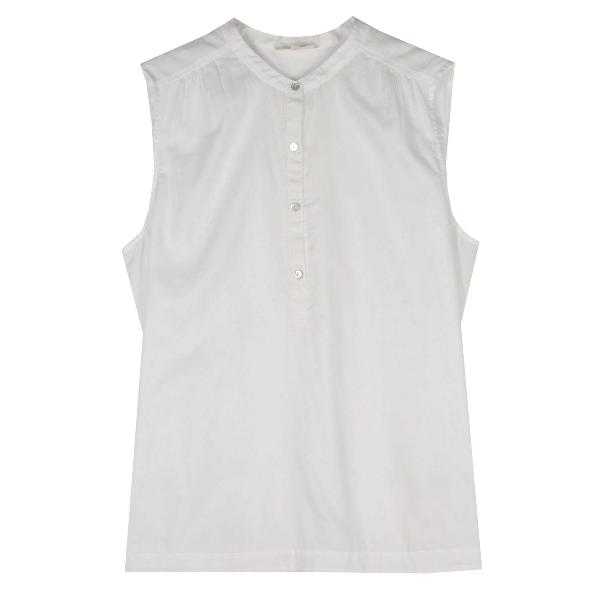Organic Cotton Twill Voile Tank