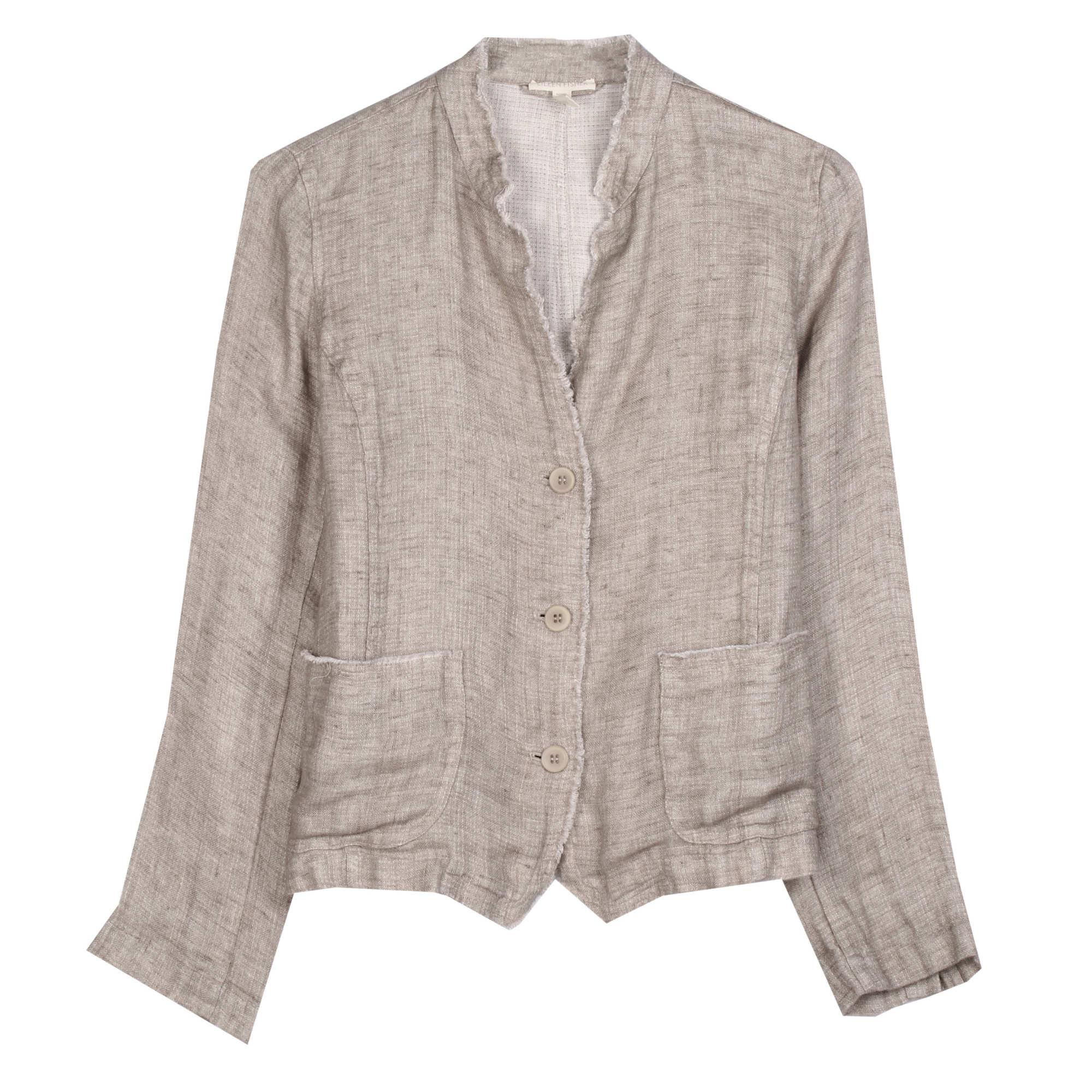Organic Linen Doubleweave Jacket