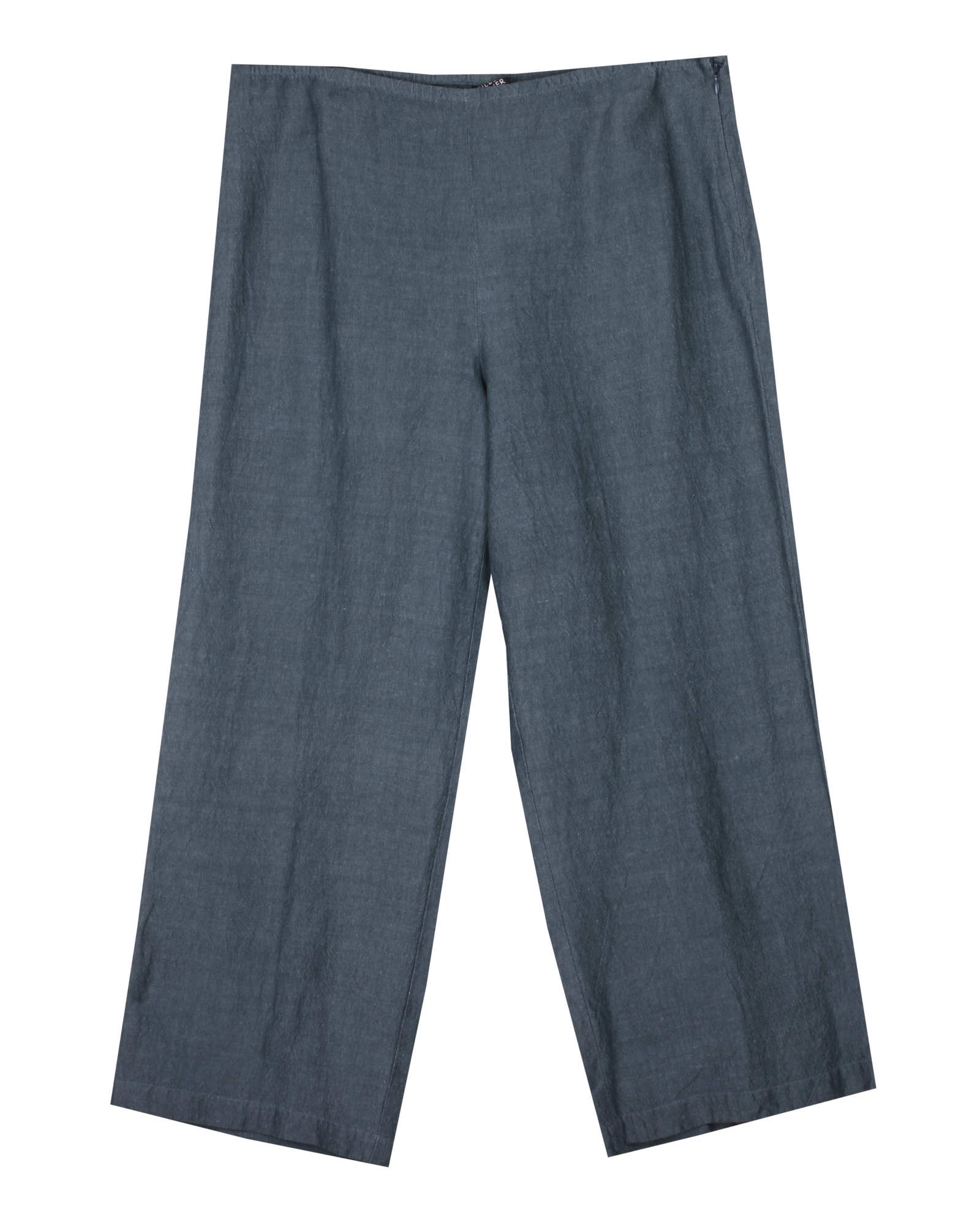 Cross-Dyed Linen Rayon Pant