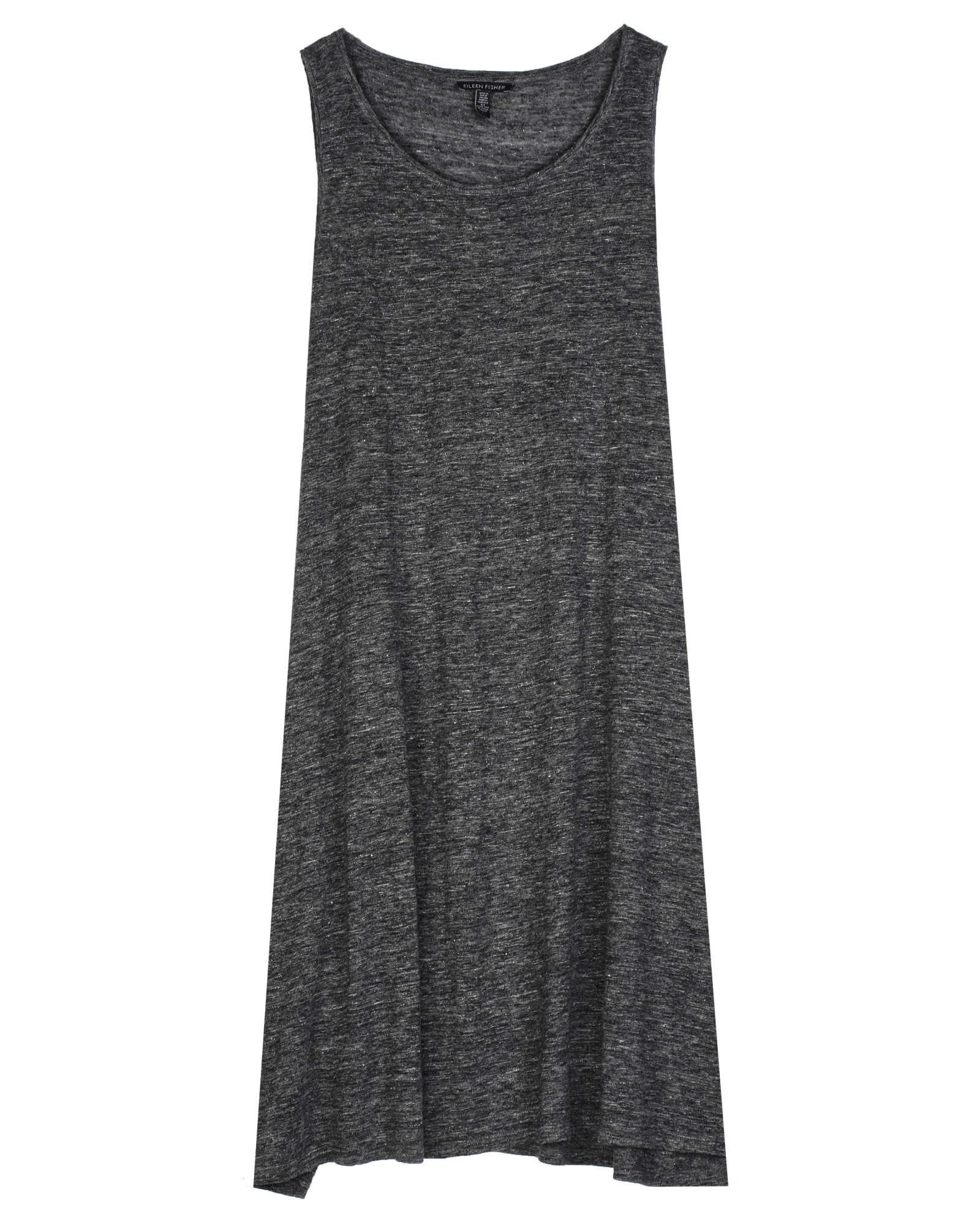 Organic Linen Jersey Melange Dress