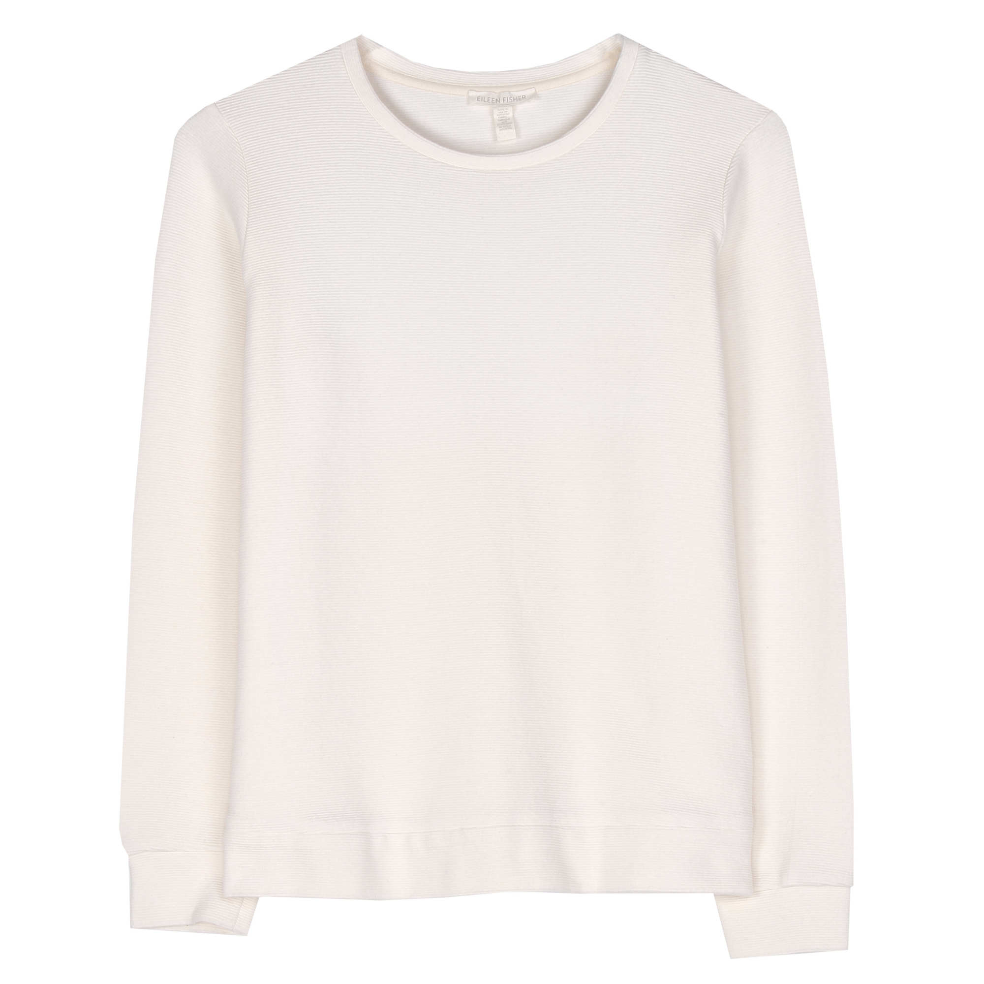 Organic Cotton Recycled Polyester Ottoman Pullover