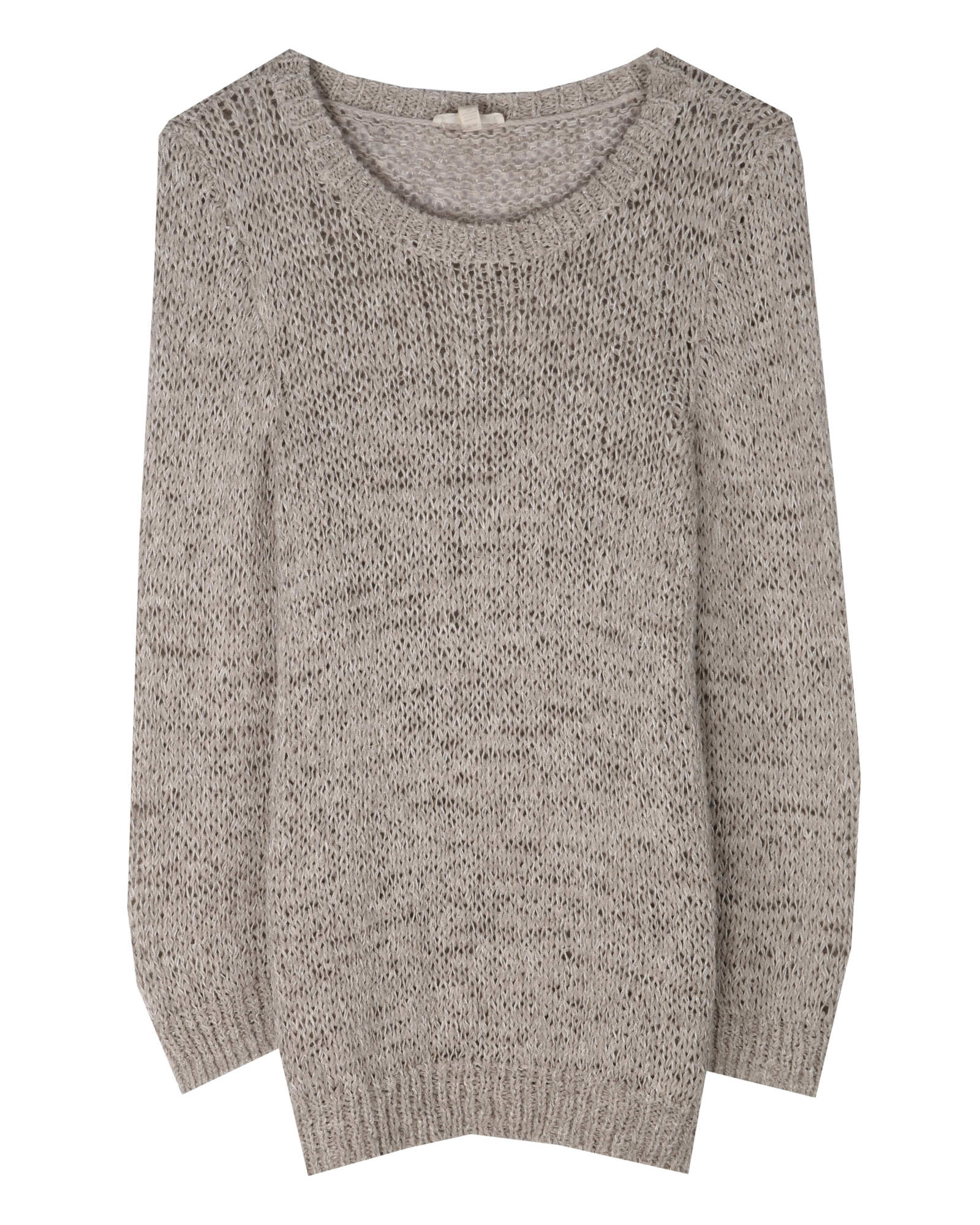 Rustic Twisted Tape Pullover